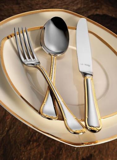 Aryıldız Tulip Prestige Altın 89 Parça Çatal Kaşık Bıçak Takımı Altın